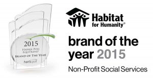 2015, Habitat named brand of the year